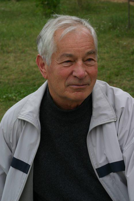 А.Б. Сосинский на Летней школе в Дубне, 2006