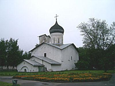 Церковь Николы на Усохе   (1536). Фото: Ярослав Блантер