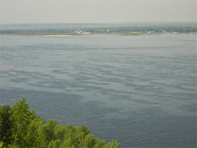 Волга с Верблюд-горы.         Фото: Олег Манаенков